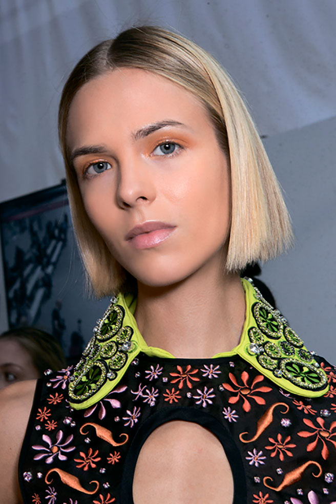 Holly Fulton backstage
