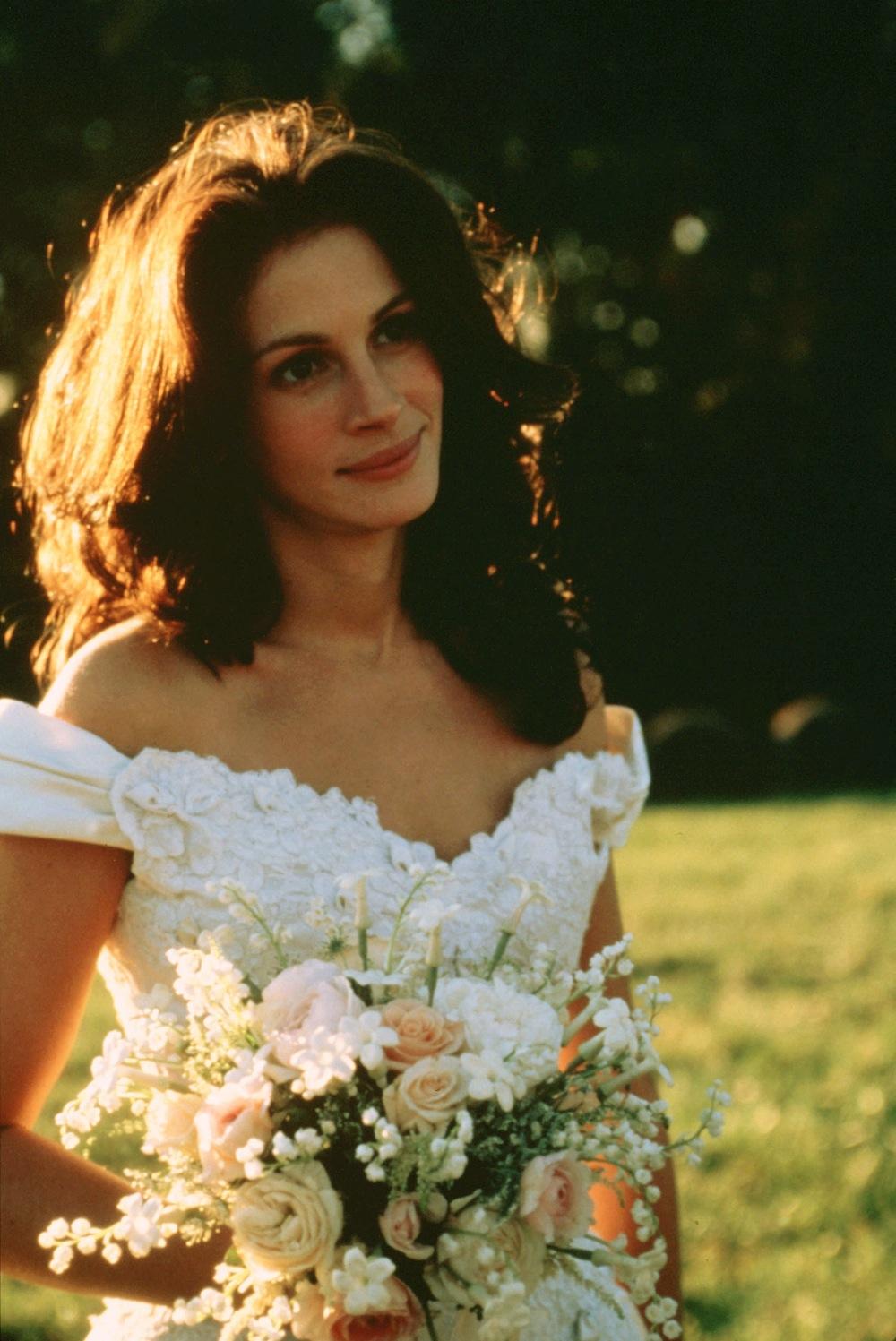 Сбежавшая невеста платье фильм