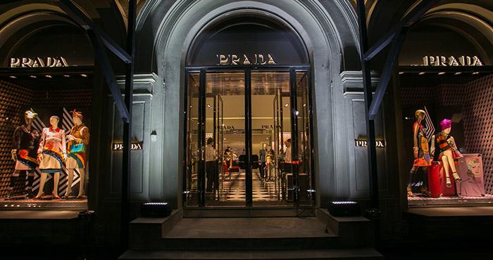 55ed607356e4 В Санкт-Петербурге открылся первый бутик Prada!   Журнал GraziaMagazine