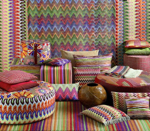 Стенд Missoni с выставки I Saloni WorldWide Moscow 2013