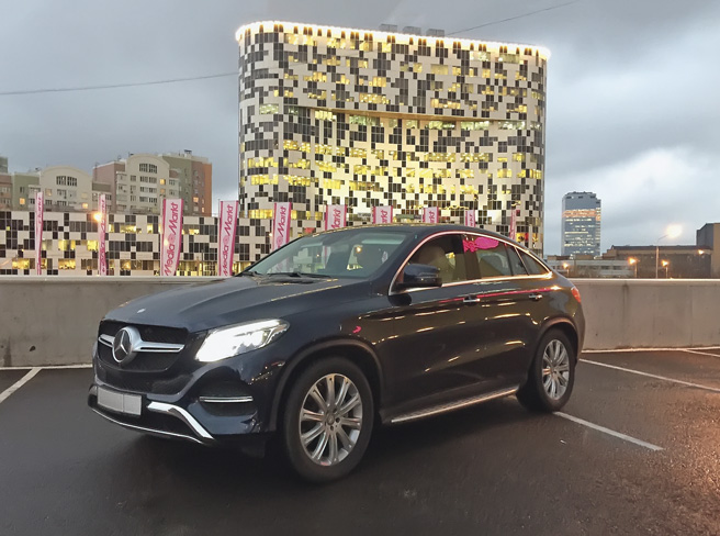 Mercedes-Benz GLE 400 Coupe