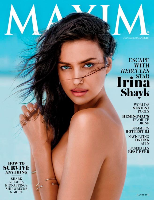 Ирина шейк фото для журнала