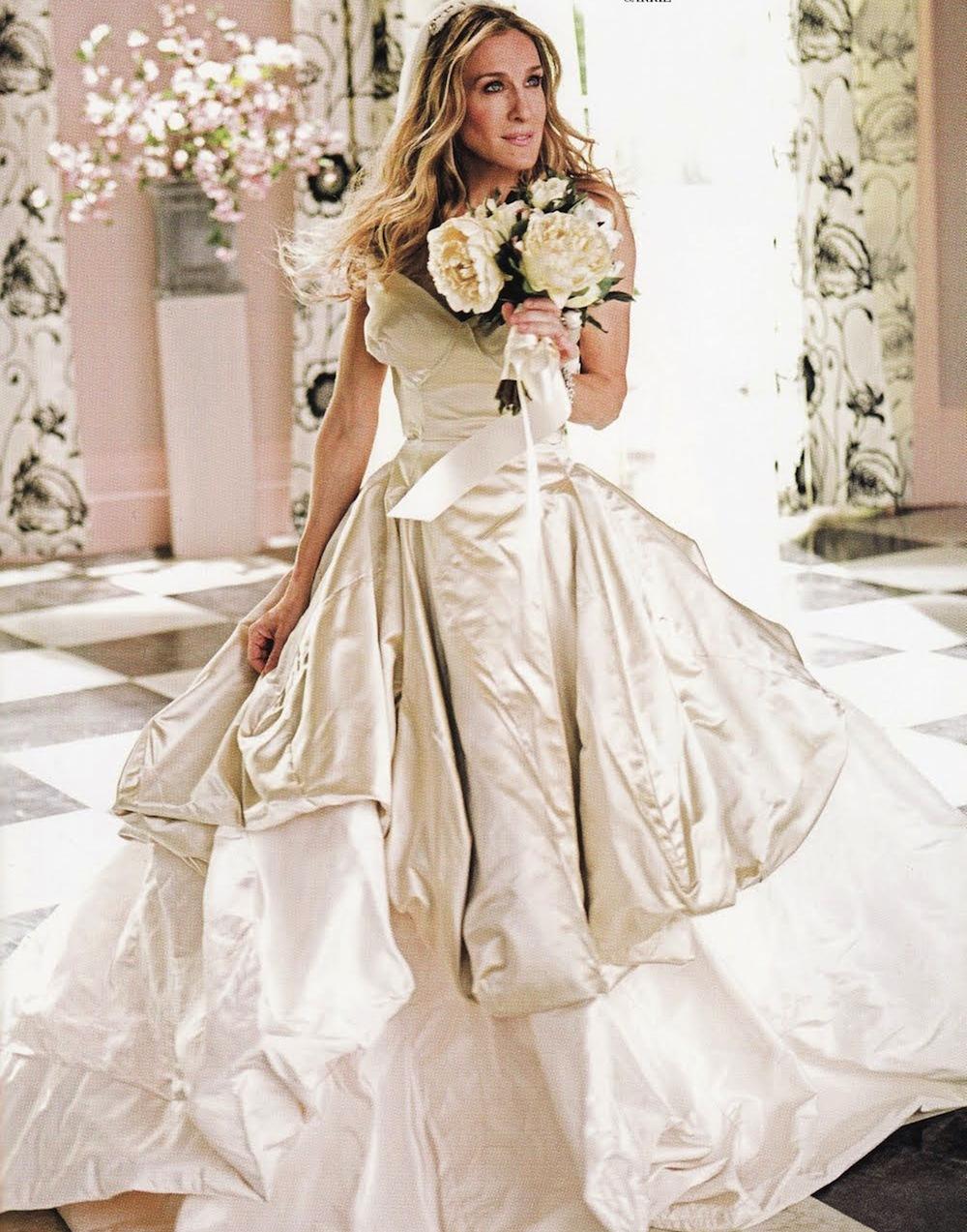 2074ee0ce1957a5 Свадебные платья «как в кино»! | Журнал GraziaMagazine