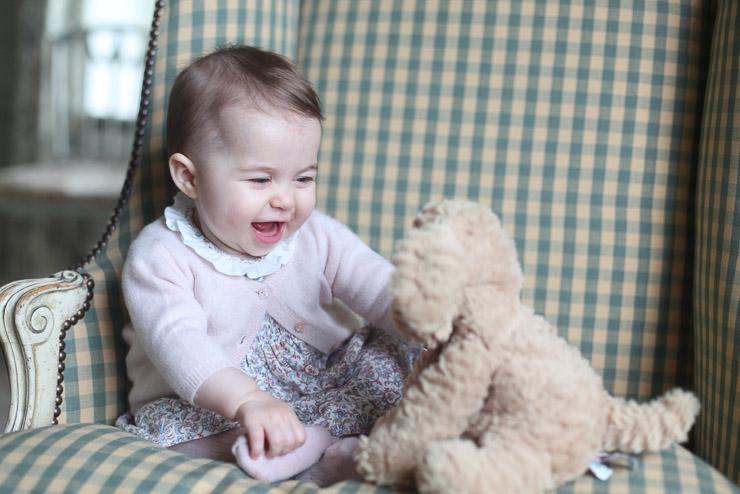Принцесса Шарлотта, ноябрь 2015