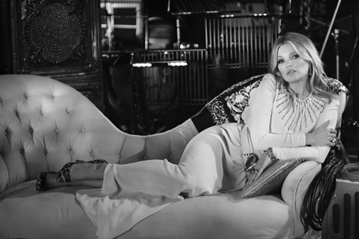 Кейт Мосс снялась вклипе напесню Элвиса Пресли