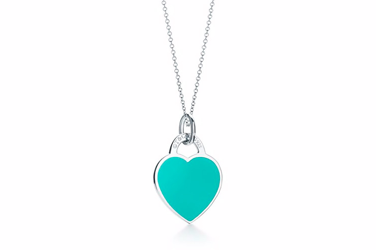 Подвеска изстерлингового серебра сэмалью, Tiffany & Co, цена позапросу, Tiffany & Co