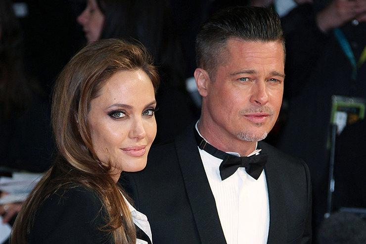 Джоли не позволила Питту увидеть шестерых детей вДень Благодарения