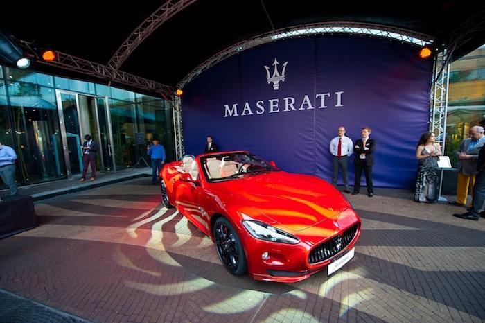 Презентация Octo Maserati вБарвихе
