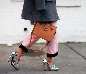 Серебряный каблучок: 12 удачных примеров серебристой обуви изInstagram