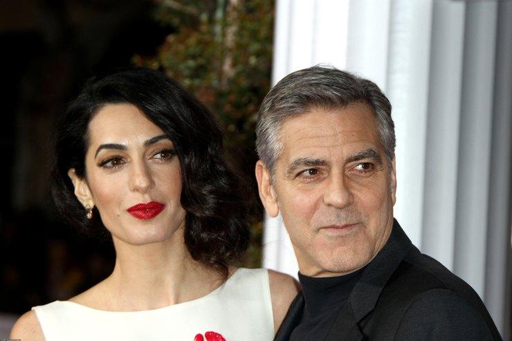 Амаль иДжордж Клуни подтвердили, что ожидают двойню иназвали дату родов