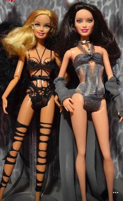 Джиджи иБелла вроли кукол Барби