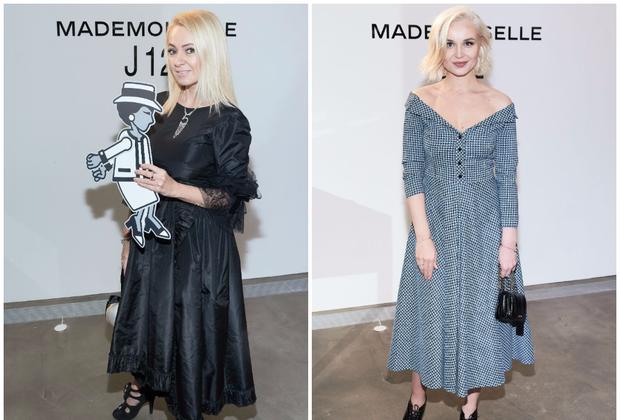Яна Рудковская идругие звезды напрезентации часов Chanel Mademoiselle J12