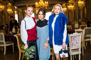 Елена Кулецкая, Юлия Барановская и другие на презентации новой коллекции Sokolov