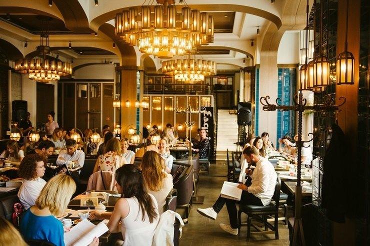 В Москве состоялся «Литературный завтрак» Esquire