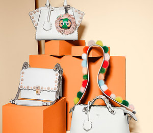 В цветочек: 34 яркие летние сумки Fendi сцветочными узорами