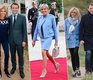 Женщина французского президента: как одевается Брижит Макрон