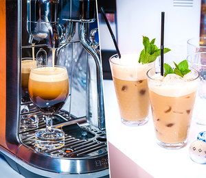В Большом театре прошла презентация лимитированной серии Nespresso Iced Coffee