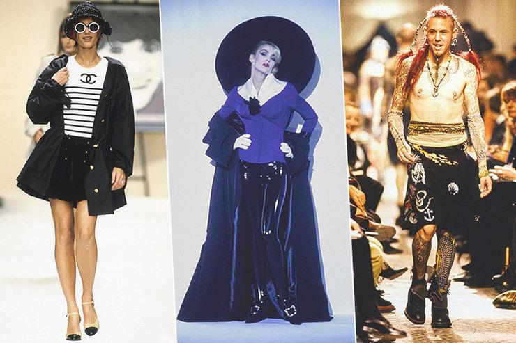 Джордж Майкл иготика: 9 незабываемых модных показов 90-х