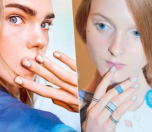15 вариантов модного маникюра сакцентом накутикулу