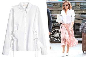 И на пир, и в офис: 5 идеальных белых сорочек для модных «отличниц»