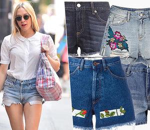 Игра накоротких позициях: 7 самых модных джинсовых шорт налето