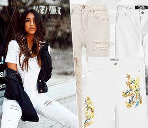 С чистого листа: 10 идеальных белых джинсов налето