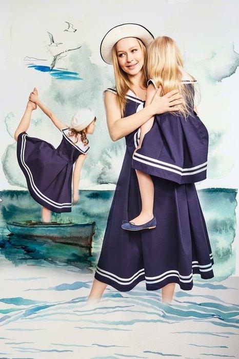 Модные луки мама с дочкой